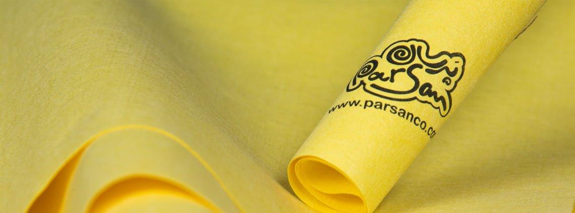 دستمال جیر پرسان - Parsan Synthetic Suede Cloth
