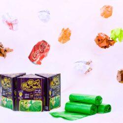 پلاستیک زباله سبز