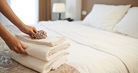رعایت بهداشت در هتل ها