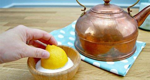 تمیز کردن مس یا لیمو