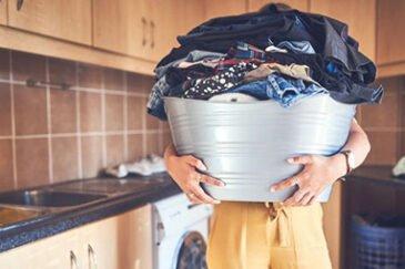 نحوه شستن لباس مشکی