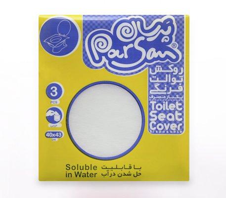روکش توالت فرنگی قابل حل در آب