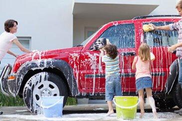 نحوه صحیح شستن ماشین