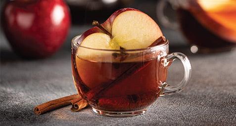 دم کرده سیب و دارچین