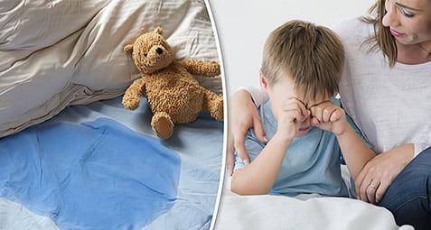 والدین و شب ادراری کودکان