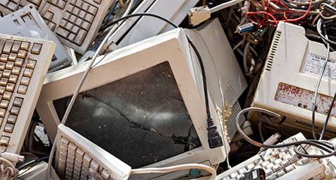 خطرات زباله های الکترونیکی